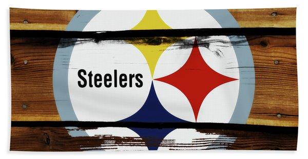 The Pittsburgh Steelers 18a Bath Towel