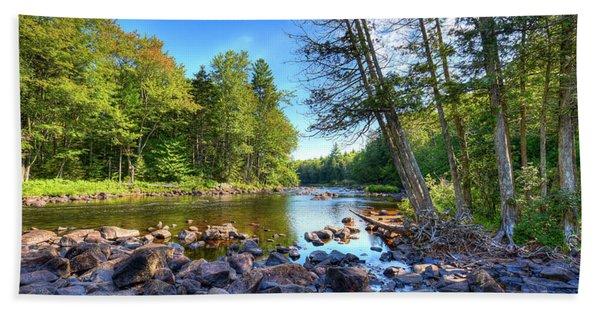 The Raquette River Hand Towel