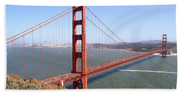 The San Francisco Golden Gate Bridge 7d14507 Bath Towel