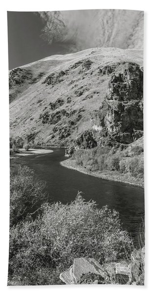 South Fork Boise River 3 Bath Towel