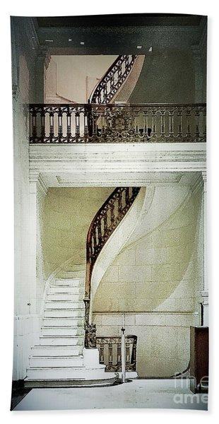 The Staircase Bath Towel