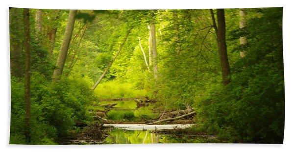 The Swamp Hand Towel