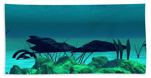 The Wreck Diving The Reef Series Bath Towel