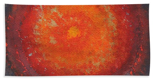 Third Eye Original Painting Hand Towel
