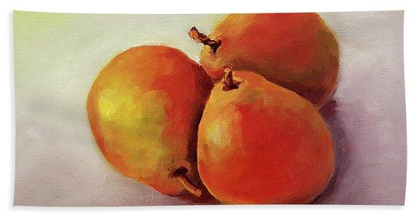 Three Pears Bath Towel