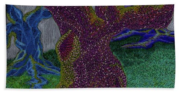 Three Trees Hand Towel