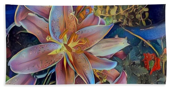 Tiger Lily 1 Hand Towel