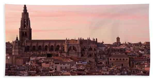 Toledo Cathedral Bath Towel