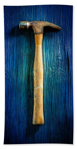Tools On Wood 49 Hand Towel