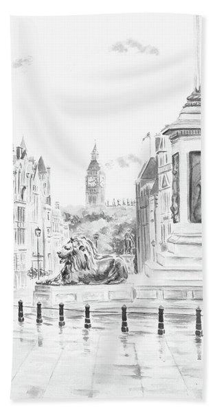 Trafalgar Square II Hand Towel