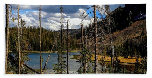 Trap Lake, Roosevelt National Forest, Colorado Hand Towel