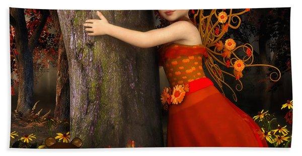 Tree Hug Hand Towel