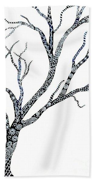 Tree Of Strength Hand Towel
