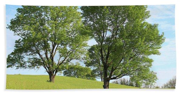 Summer Trees 4 Bath Towel