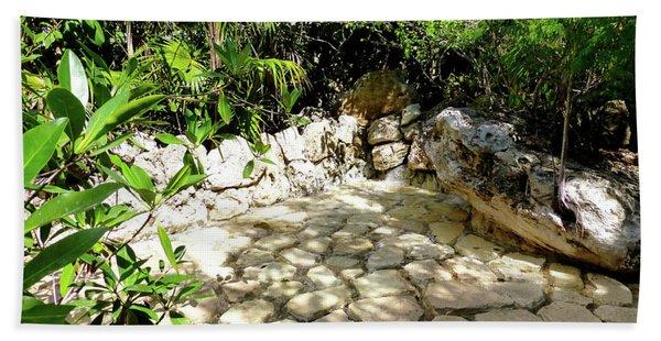 Tropical Hiding Spot Bath Towel