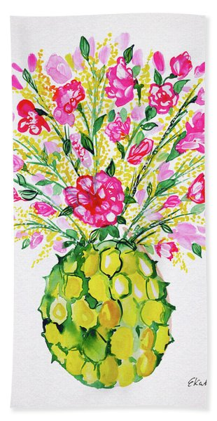 Tropical Vibes Bath Towel