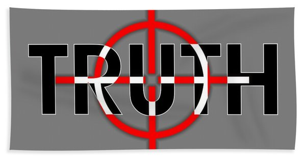 Truth Under Siege Bath Towel