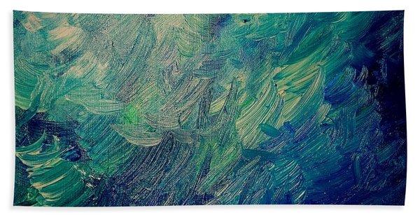 Turbulent Sea Hand Towel