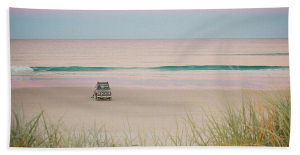 Twilight On The Beach Bath Towel