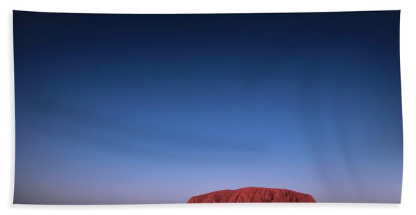 Uluru Starry Night Bath Towel