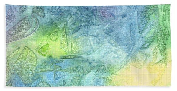Undersea Luminescence Bath Towel
