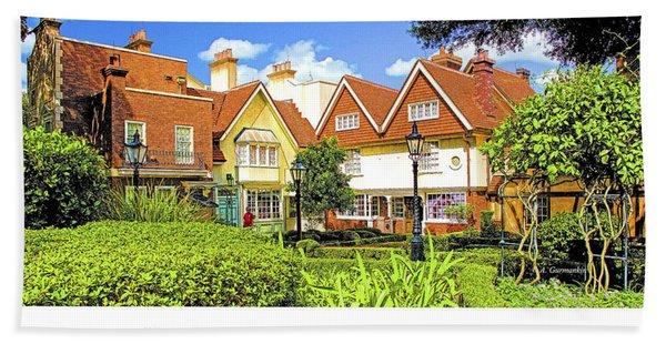 United Kingdom Buildings, Epcot, Walt Disney World Bath Towel
