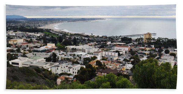 Ventura Coast Skyline Hand Towel
