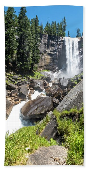 Vernal Falls- Bath Towel