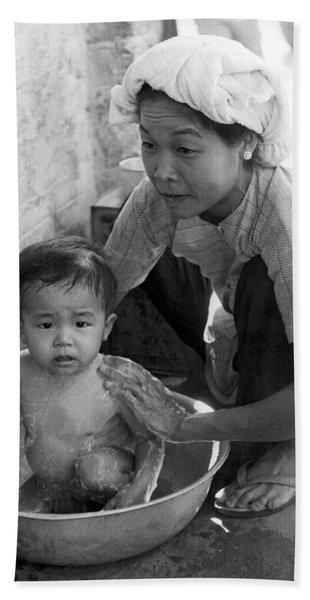 Vietnamese Orphan Bathing Bath Towel