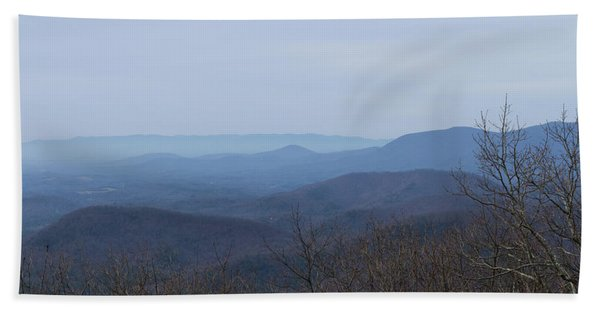 View From Springer Mountain Bath Towel