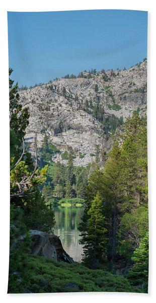 View Of Eagle Lake Hand Towel