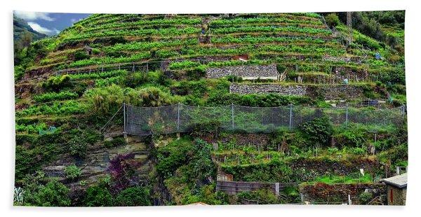 Vineyards Of Italy Bath Towel