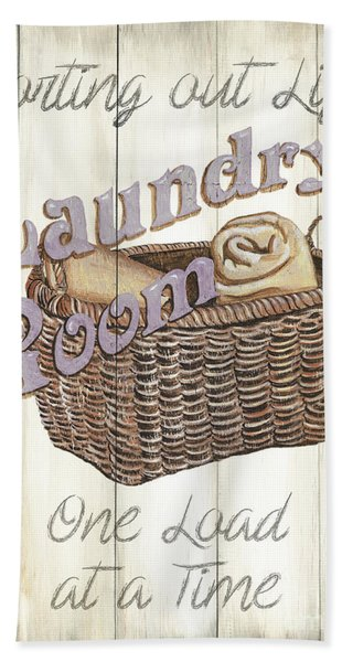 Vintage Laundry Room 2 Hand Towel