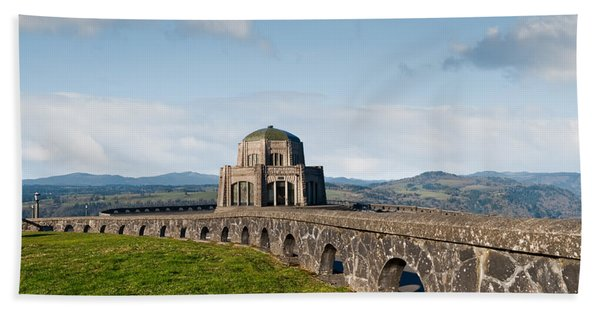 Vista House At Crown Point Hand Towel