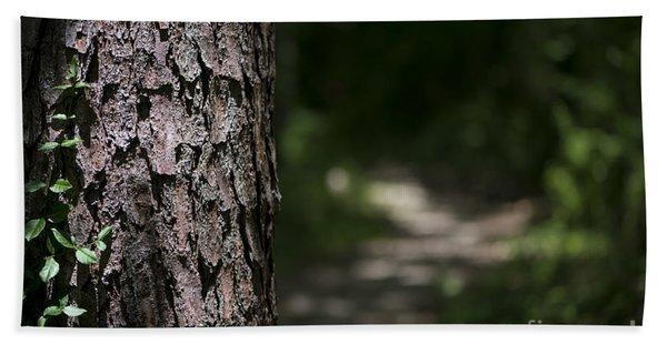 Walk In The Woods Bath Towel