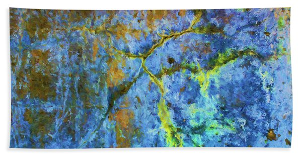 Wall Abstraction I Hand Towel