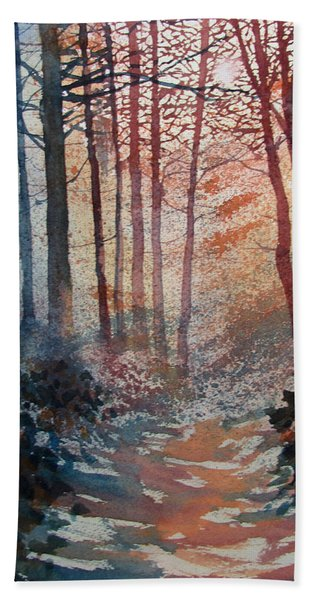 Wander In The Woods Bath Towel