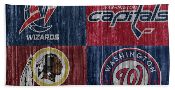 Washington Dc Sports Teams Bath Towel