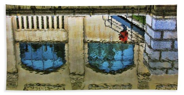 Water Reflections Bath Towel