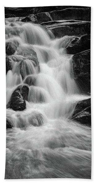 water stair close to the Heinrich Heine hiking way, Harz Hand Towel
