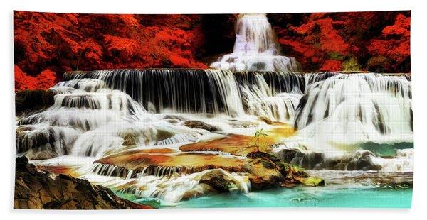 Waterfall Bridge Hand Towel