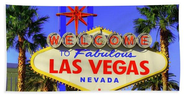 Welcome To Las Vegas Bath Towel