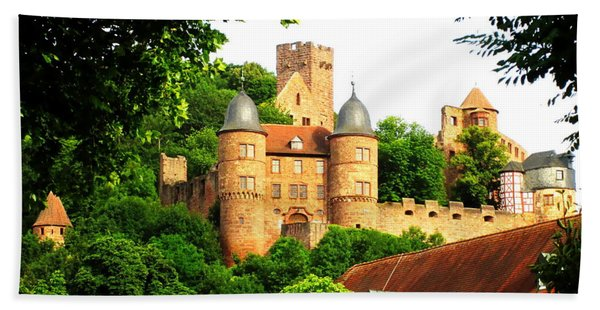 Wertheim Castle Hand Towel