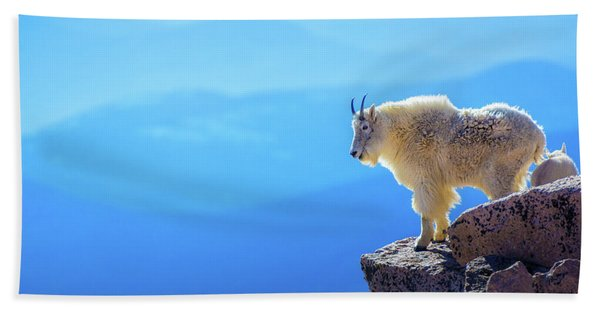 Hand Towel featuring the photograph What A View by John De Bord