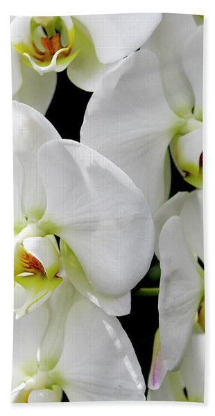 White Orchid Hand Towel