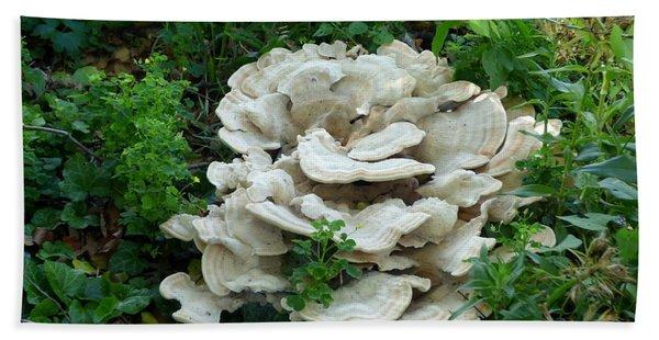 White Fungus Bath Towel