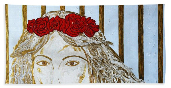 Who Is She? Bath Towel