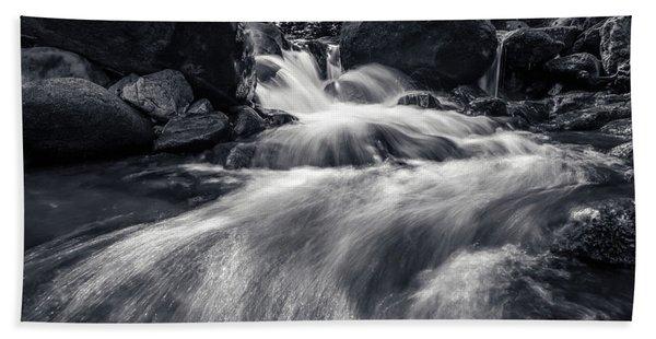 wild creek in Harz, Germany Hand Towel