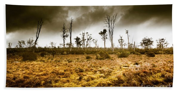 Wild Moors  Hand Towel