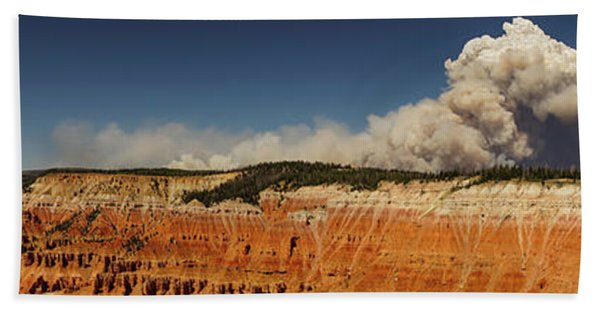 Wildfire Cedar Breaks National Monument Utah Bath Towel